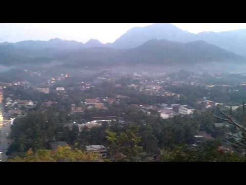 Bird Eye View of Luang Prabang Laos Travel Guide Review 3