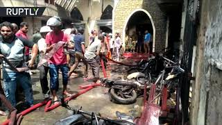 Bodies removed after 8 blasts rocked hotels and churches in Sri Lanka (GRAPHIC)