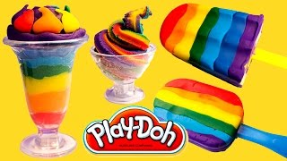 Play Doh Ice Cream Playdough Popsicles Play-Doh Scoops