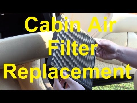 How To Change The Cabin Air Filter In Your Car