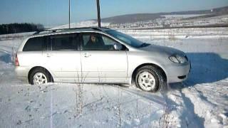 Тест драйв Toyota Corolla Fielder (Тойота Филдер).