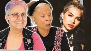 Old Lesbians Watch Hayley Kiyoko