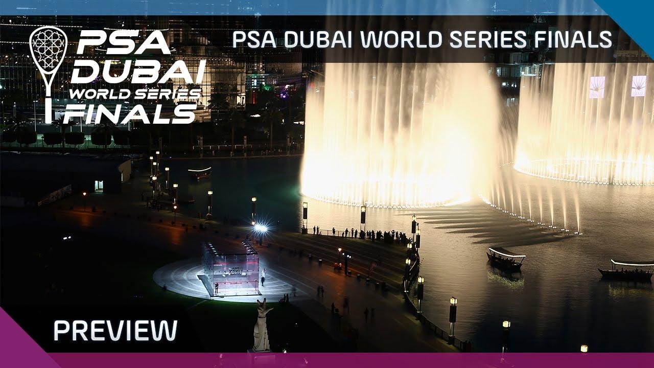 Squash: PSA Dubai World Series Finals - Preview