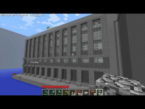 Minecraft Timelapse - Hogwarts Castle Part 1