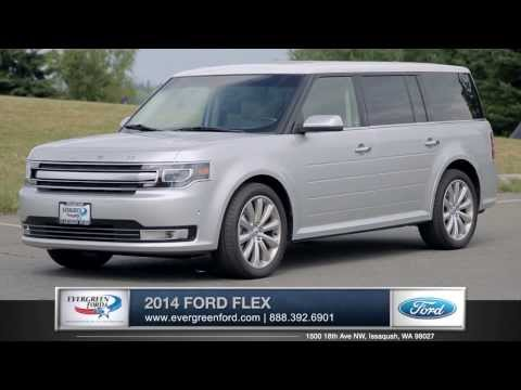 2014 Ford Flex Walkaround | Evergreen Ford - Serving Issaquah, WA & Seattle, WA