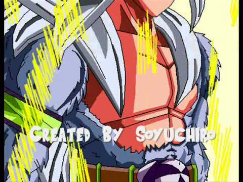 Dragon Ball AF Goku Turns SSJ5 (Paint Animation)