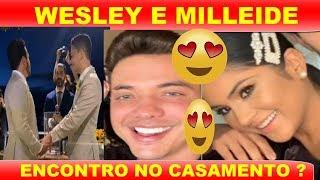VEJA O Q ACONTECEU C MILEIDE MIHAILLE E WESLEY SAFADÃO EM CASAMENTO DE CARLINHOS MAIA