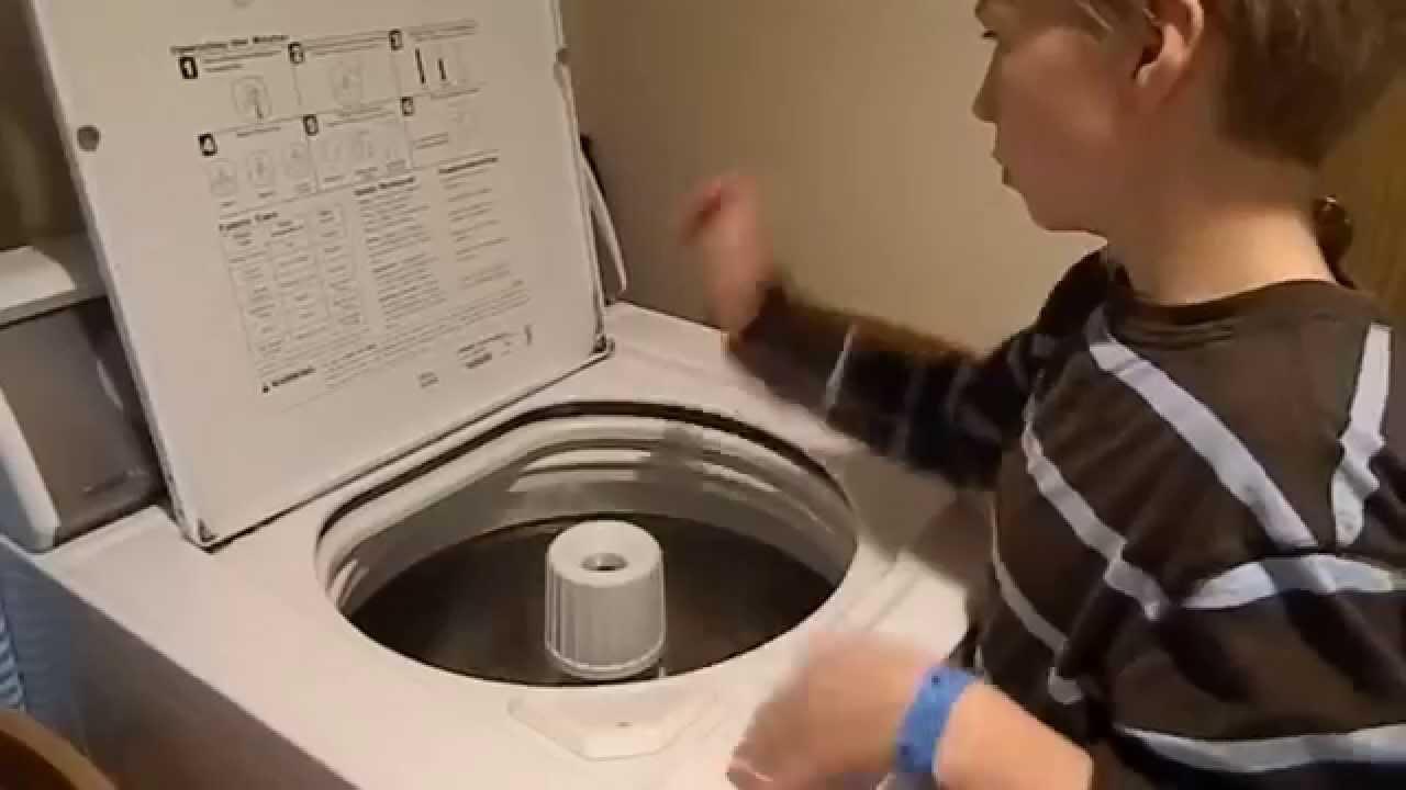 drumming washing machine