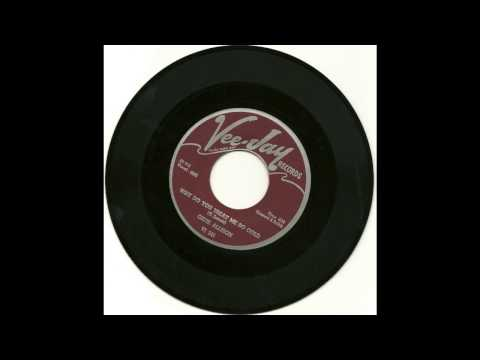 Gene Allison - Why Do You Treat Me So Cold  1960