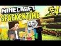 Minecraft SPACKENTIME #4 - GEDICHTE ZUM ABLACHEN - Minecraft Spackentime