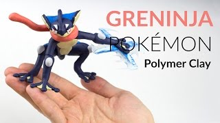 Greninja (Pokemon) ? Polymer Clay Tutorial