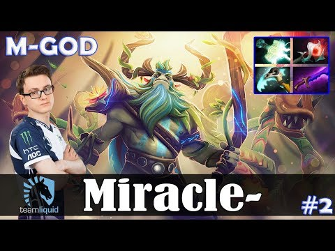 Miracle - Nature's Prophet Offlane | M-GOD | Dota 2 Pro MMR  Gameplay #2