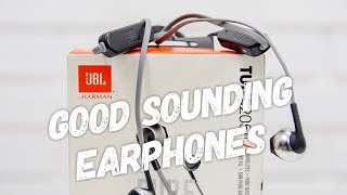 JBL T205 Bluetooth Earphones These Sound Good but for you