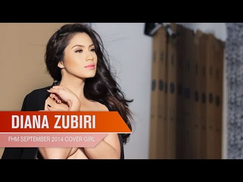 Diana Zubiri - Fhm Cover Girl September 2014 video