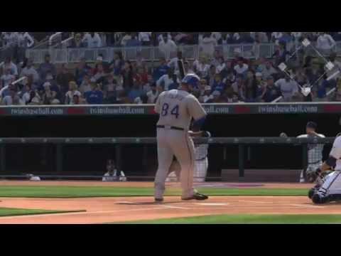 MLB The Show 16 Texas Rangers vs Minnesota Twins 7 2 16