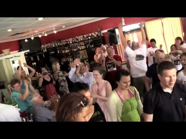 Vinnie's Graduation Flash Mob - North Carolina