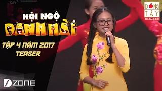 PHƯƠNG MỸ CHI BẤT NGỜ HÓA 'GÁI XUÂN' DỊU DÀNG | HỘI NGỘ DANH HÀI 2017I TẬP 4 TEASER (04/02/2017)