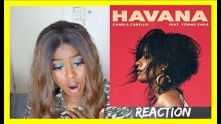 Download Lagu Camila Cabello - Havana ft. Young Thug (MUSIC VIDEO) REACTION Gratis STAFABAND