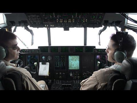 米軍KC130空中給油機に体験搭乗