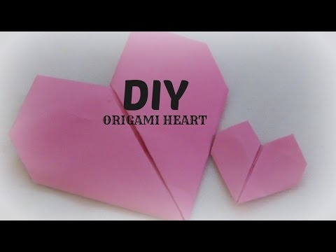 DIY: How To Make Origami Heart- Easy & Simple Paper Craft