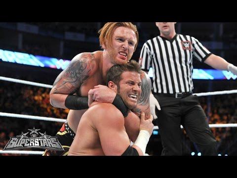 Zack Ryder vs. Heath Slater: WWE Superstars, April 17, 2015