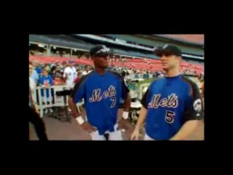 Funny Clip of David Wright, Jose Reyes and Cliff Floyd in 2006 (HQ)