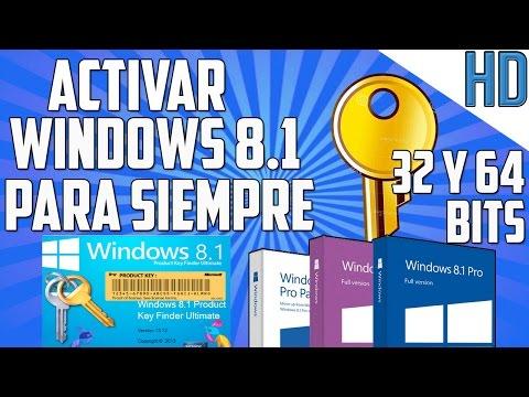 Como Activar Windows 8 y 8.1 PRO para siempre 2015