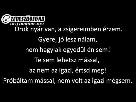 Kozmix - Holnapután (dalszöveg - Lyrics Video)