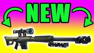 NEW UPDATE! New Heavy Sniper ⚠️ Fortnite Battle Royale PC Gameplay