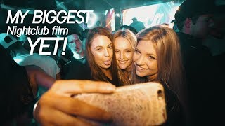 My Biggest Nightclub Film YET! + My Biggest RISK yet!