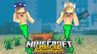 LITTLE KELLY IS A MERMAID! - Minecraft Little Club Adventures