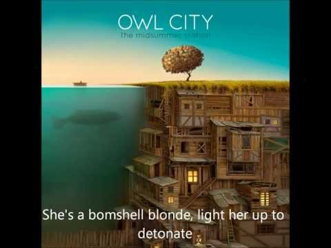 Owl City - Bombshell Blonde