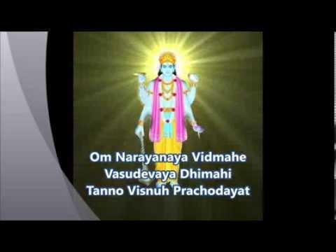 Vishnu Gayatri Mantra- Upanishads Lord Vishnu Mantra