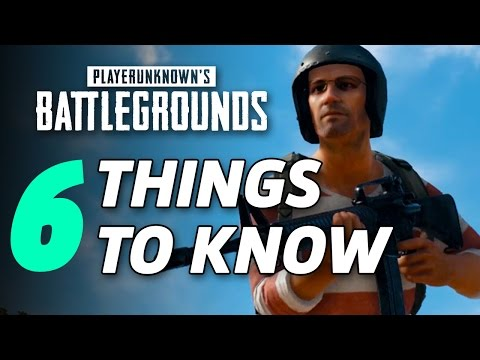 6 Things I Wish I Knew Before Playing PlayerUnknown's Battlegrounds