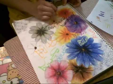 Spring Flowers Drawing - YouTube Pencil Drawing Pictures Of Flowers