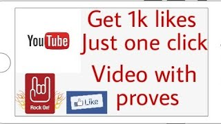 Just one click and get 1k auto likes | 100% working app | auto liker