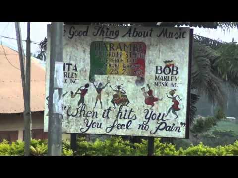 Rita Marley's House in Aburi, Ghana