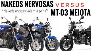 Nakeds Nervosas versus Yamaha MT-03 660 [CB500 versus GS500 versus Bandit 600 versus MT-03 660]