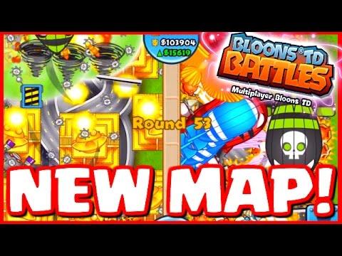 Bloons TD Battles - NEW MAP INTERCHANGE - INSANE LATE GAME BATTLES! - BTD Battles 8 Temples!