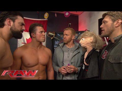 The Miz interrupts a reunion between Edge and John Cena: Raw, December 29, 2014