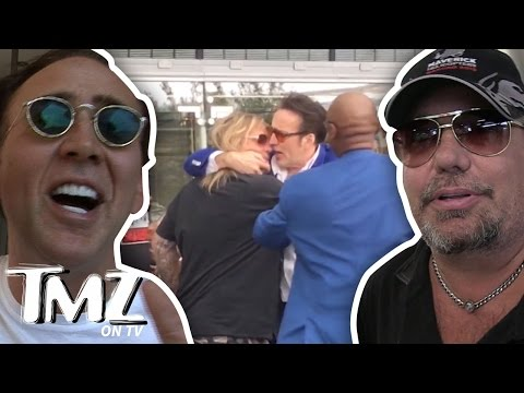 Nicolas Cage And Vince Neil – VEGAS FIGHT! (TMZ TV)
