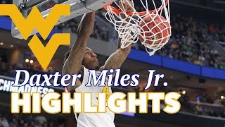 Daxter Miles Jr. West Virginia Offense Highlights Montage 2016/17 - The Spark Plug