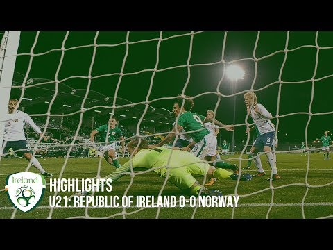 HIGHLIGHTS | Republic of Ireland 0-0 Norway | U21