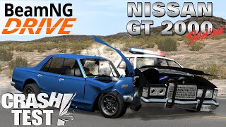 BeamNG.drive Nissan Skyline 2000GT Crash Test