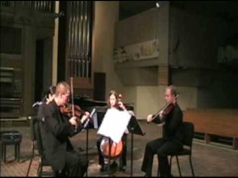 Quilters Psalm by Mark Petering - Fifth House Ensemble Performance