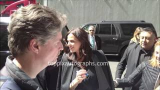 Lana Parrilla - SIGNING AUTOGRAPHS while promoting in NYC