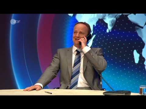 heute-show - Frank-Walter Steinmeier telefoniert mit  Hillary Clinton