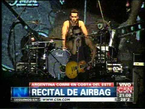 C5N - ARGENTINA CORRE: EL RECITAL COMPLETO DE AIRBAG EN COSTA DEL ESTE