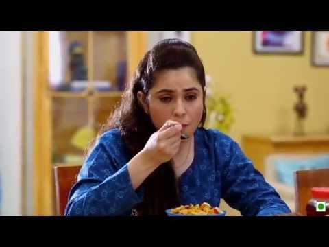 Strawberry and Banana Cornflakes(Kellogg's Waale Guptaji Ki Family ka