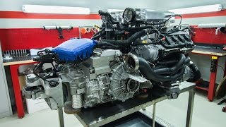 Lamborghini Huracan, Audi R8 5.2 engine assembly by GTT